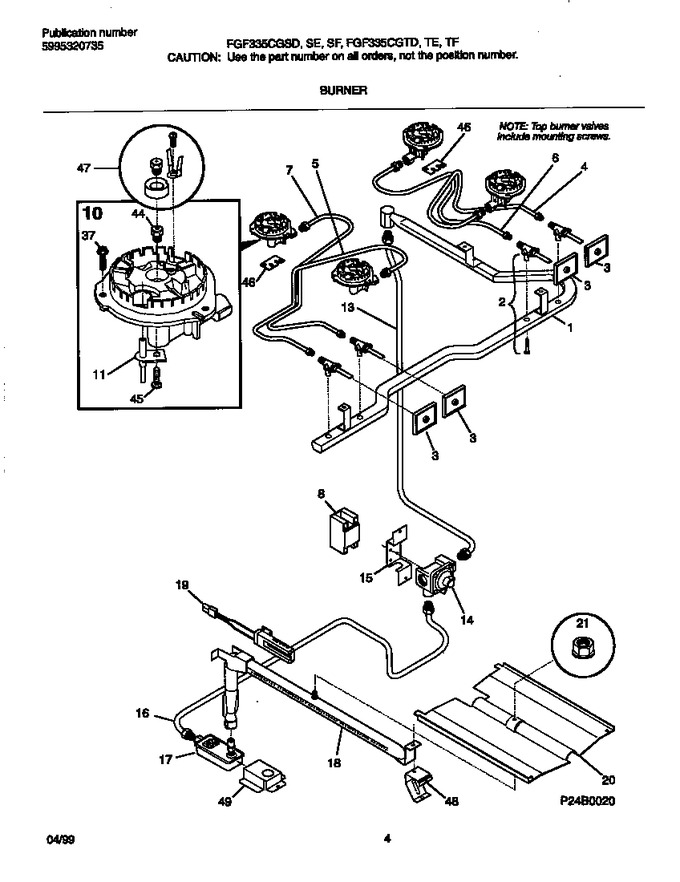 Diagram for FGF335CGTE