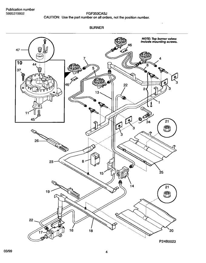 Diagram for FGF353CASJ
