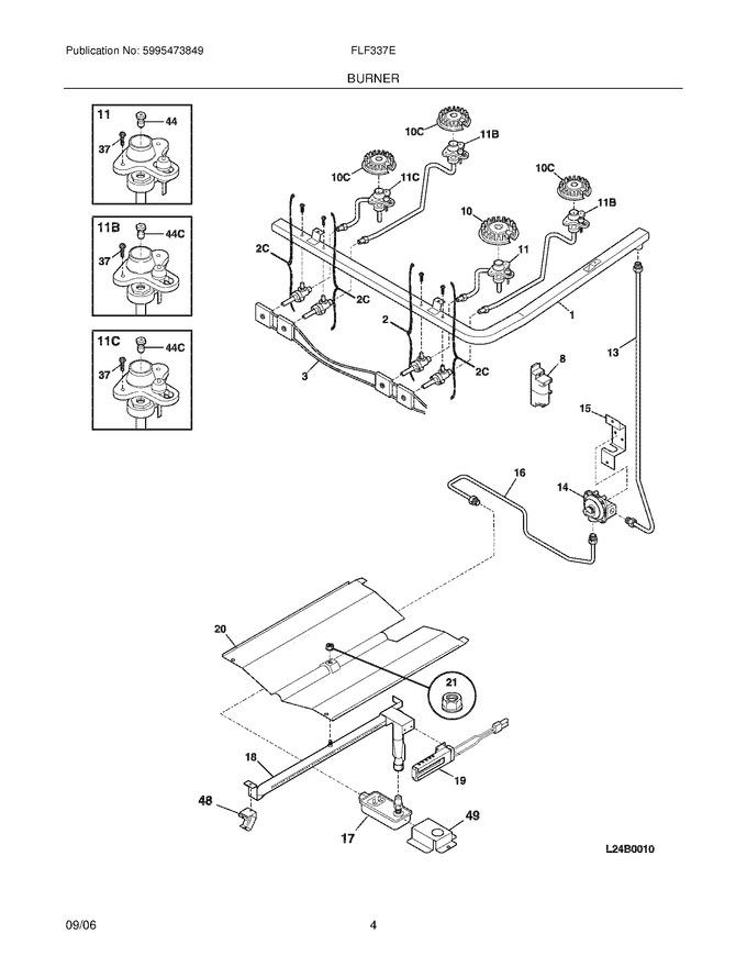 Diagram for FLF337EWD