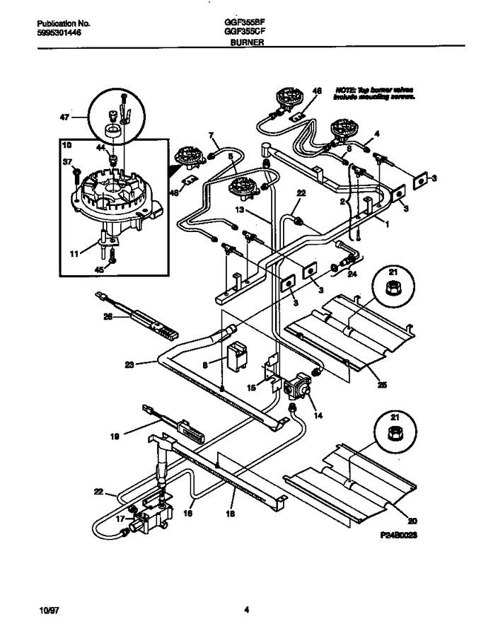Diagram for GGF355BFWB