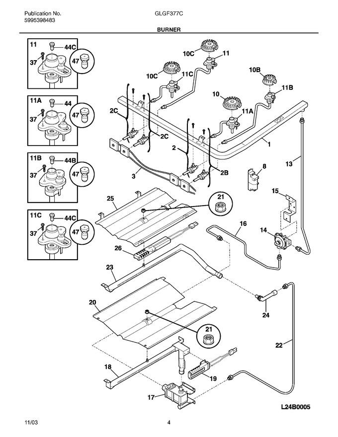 Diagram for GLGF377CBB