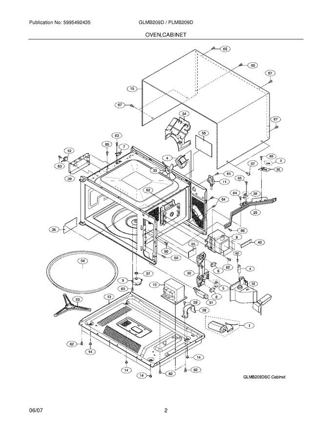 Diagram for GLMB209DQC