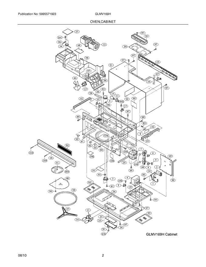 Diagram for GLMV169HBA