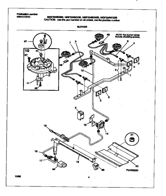 Diagram for MGF334BGWB