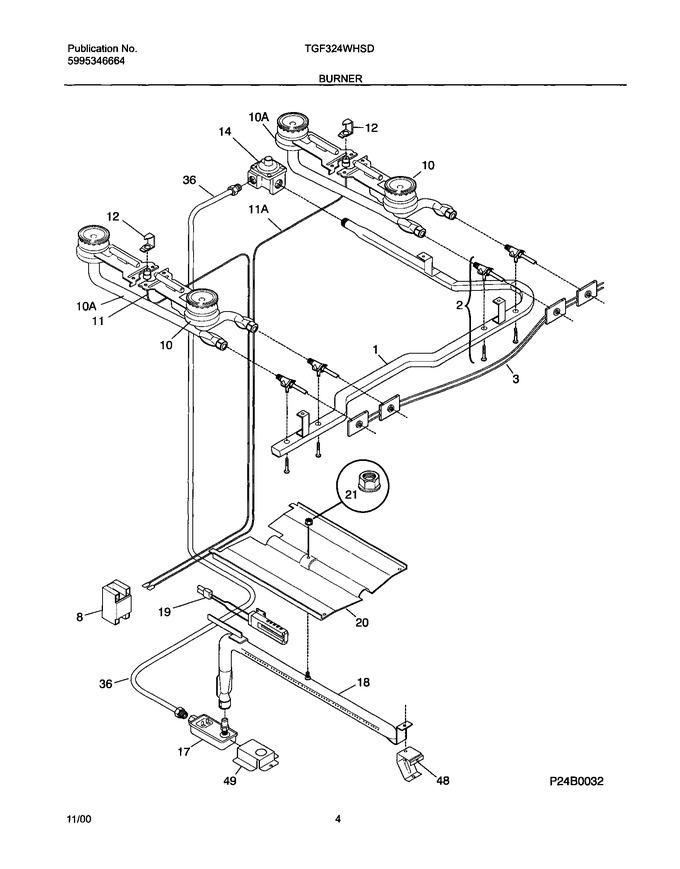 Diagram for TGF324WHSD