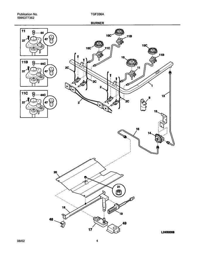 Diagram for TGF336AWA