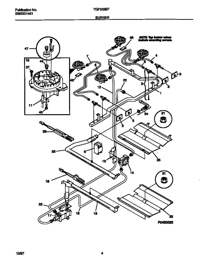Diagram for TGF355BFWB