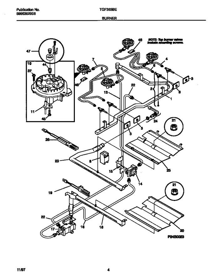 Diagram for TGF365BEWC