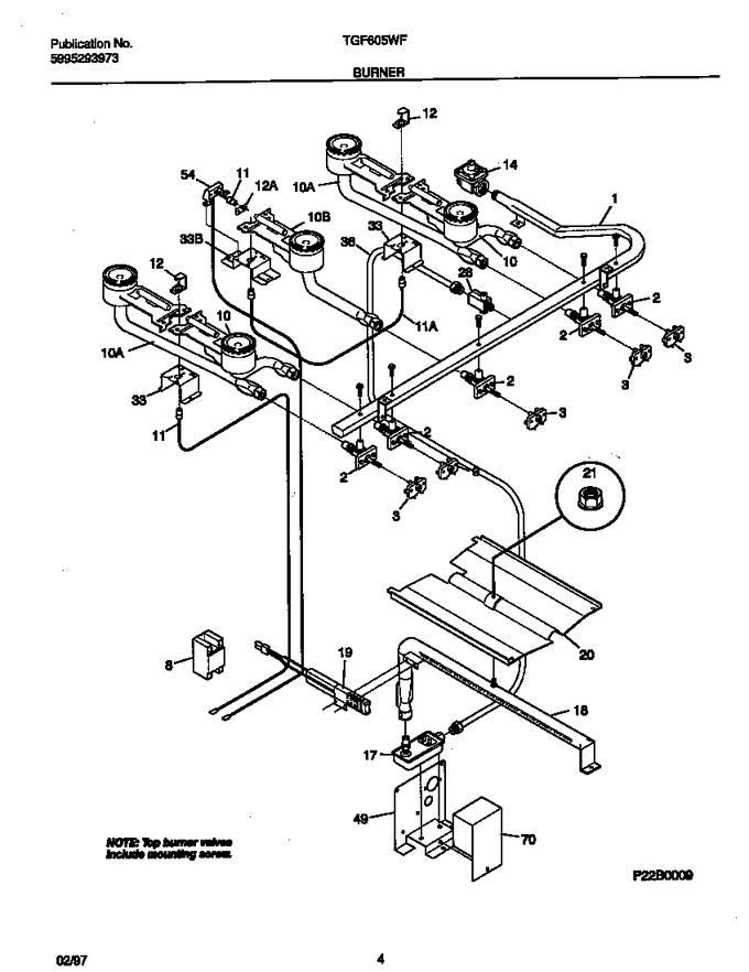 Diagram for TGF605WFW1
