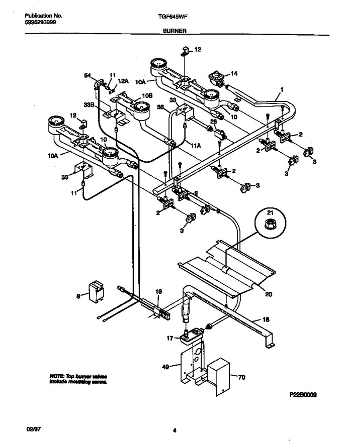 Diagram for TGF645WFW1