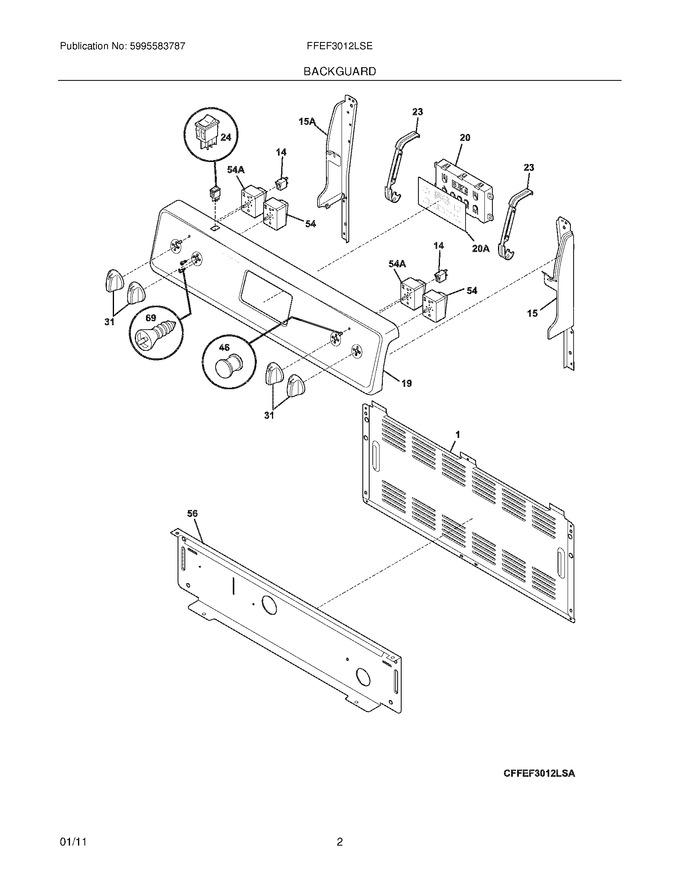 Diagram for FFEF3012LSE