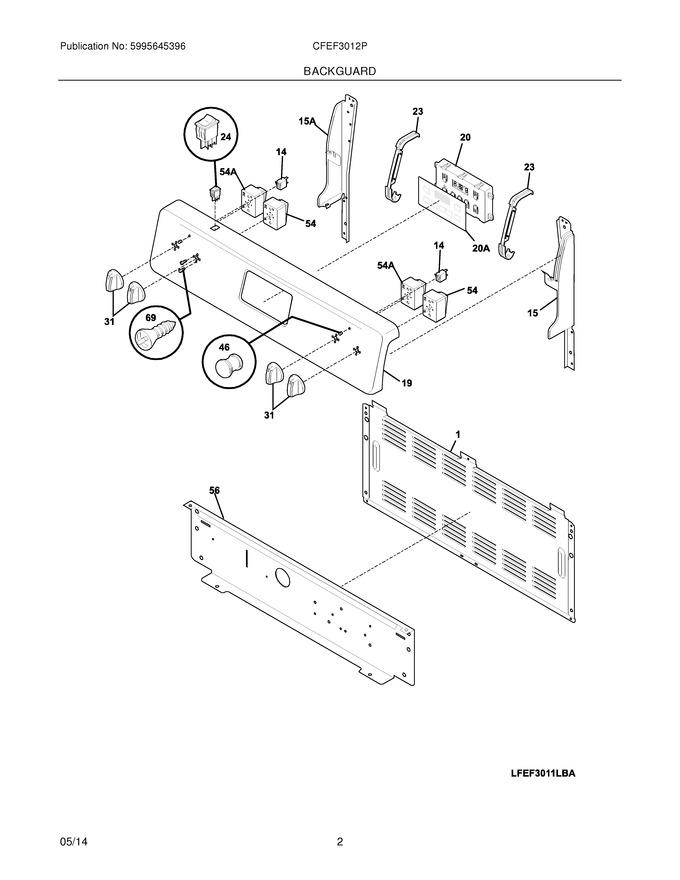 Diagram for CFEF3012PWA