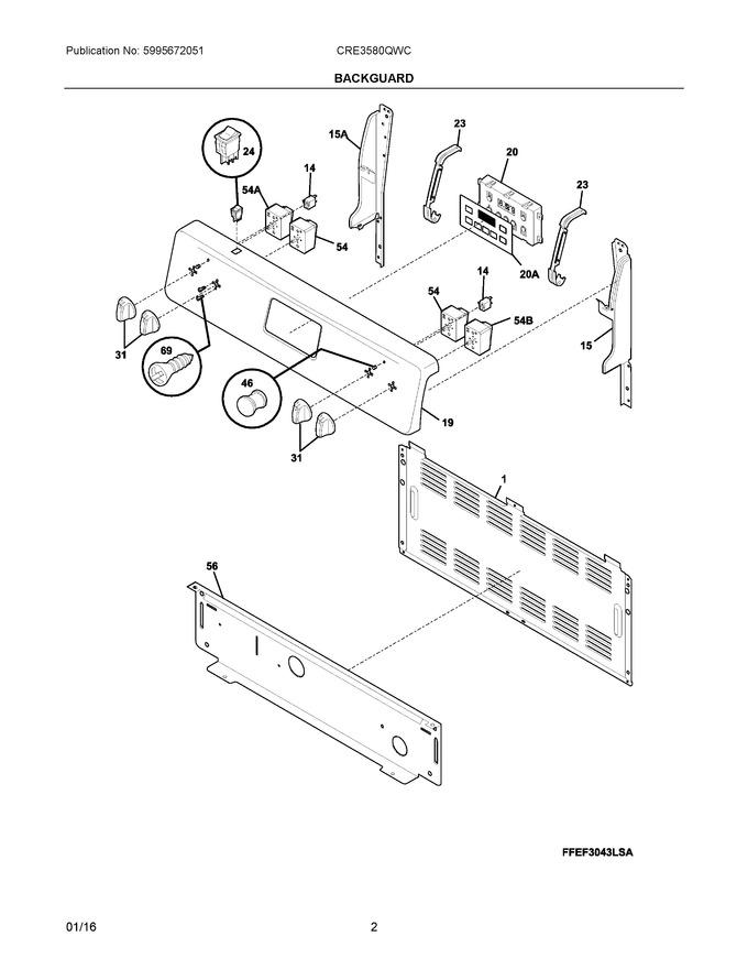 Diagram for CRE3580QWC