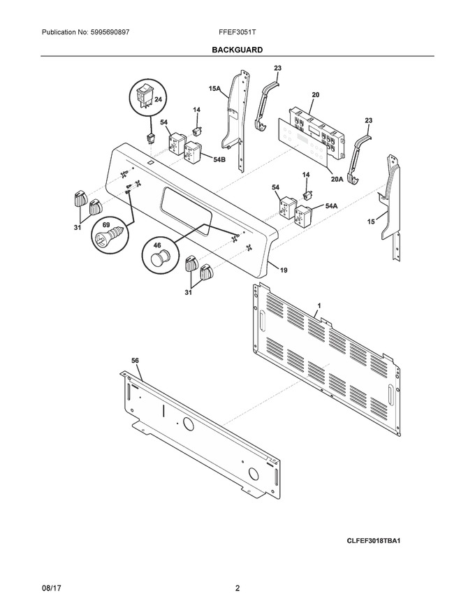 Diagram for FFEF3051TWA