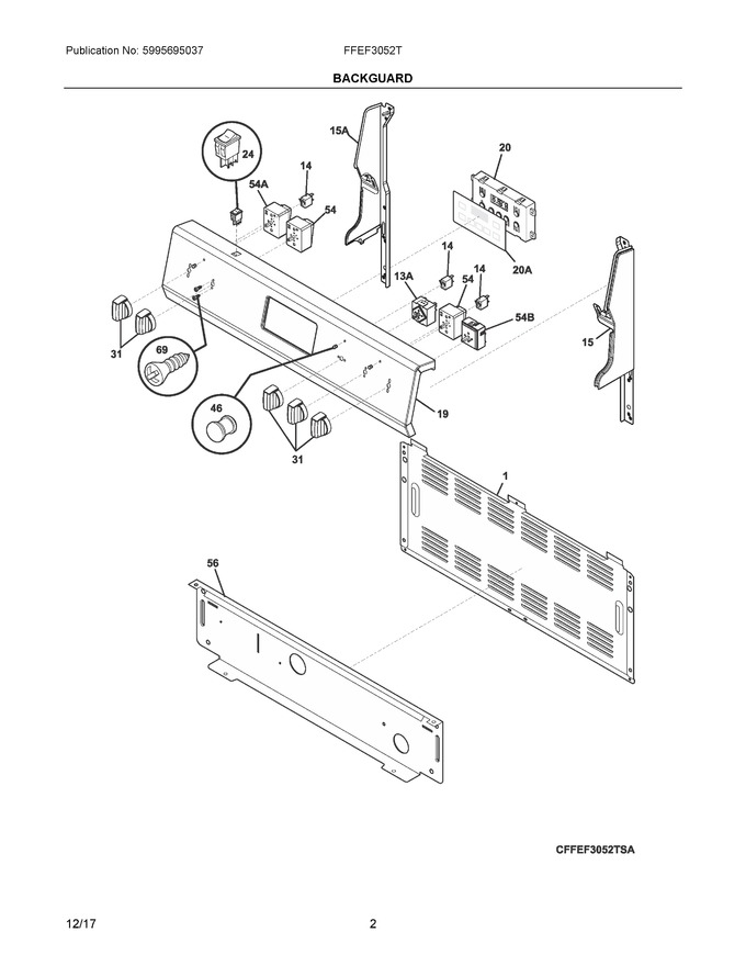 Diagram for FFEF3052TSC