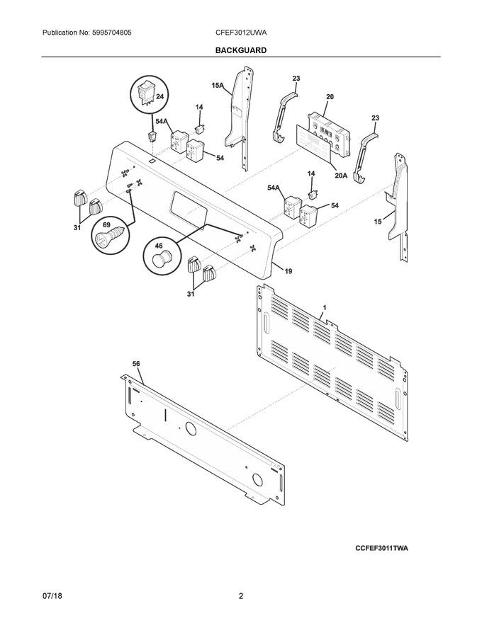 Diagram for CFEF3012UWA