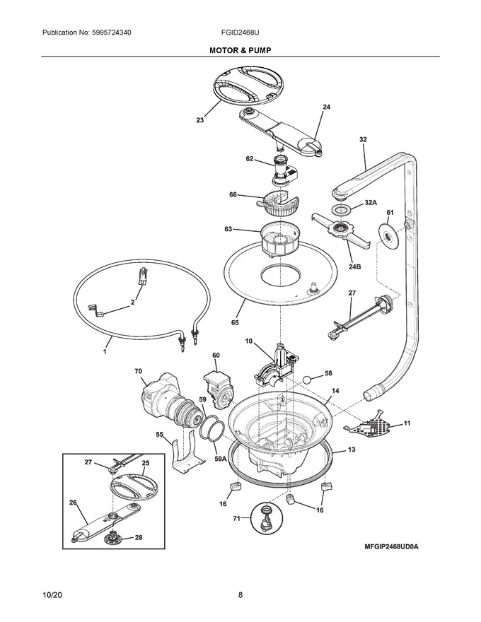 Diagram for FGID2468UF2A