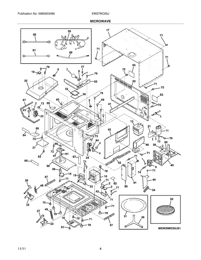 Diagram for EW27MC65JW2