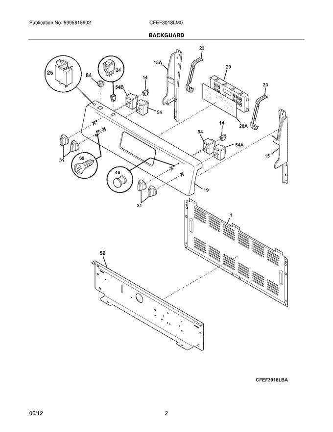 Diagram for CFEF3018LMG