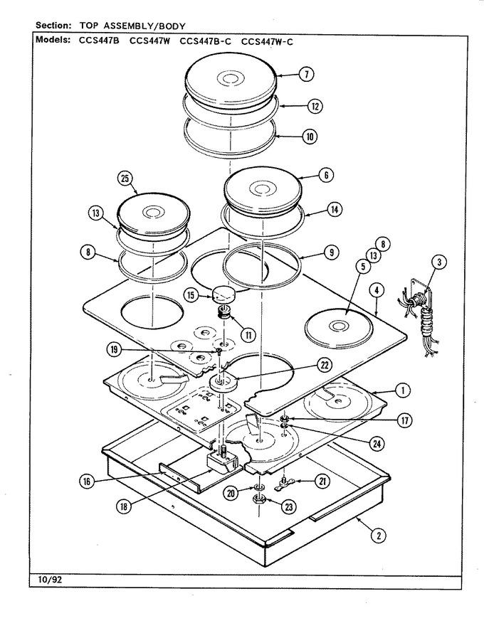 Diagram for CCS447W-C