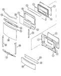 Diagram for 04 - Door/access Panel