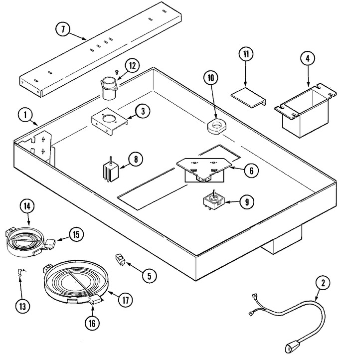 Diagram for JED8430ADQ