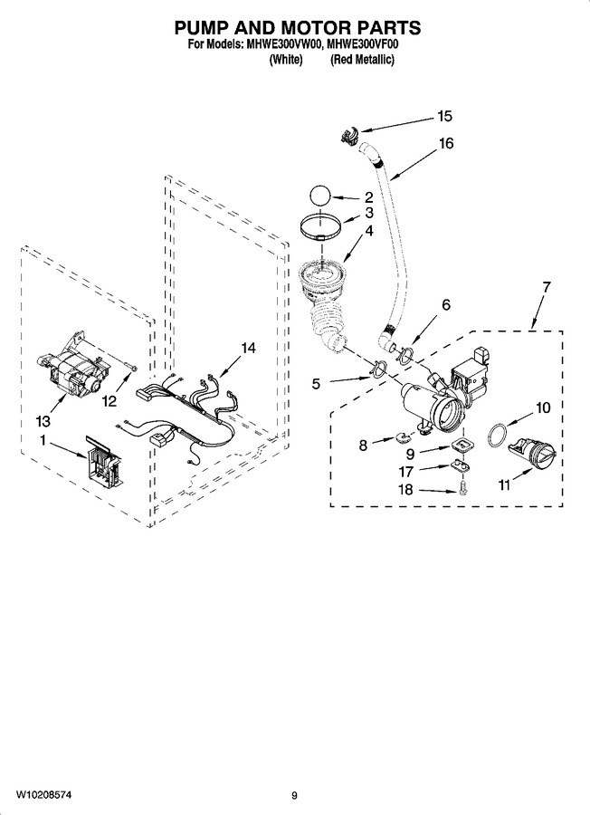 Diagram for MHWE300VF00