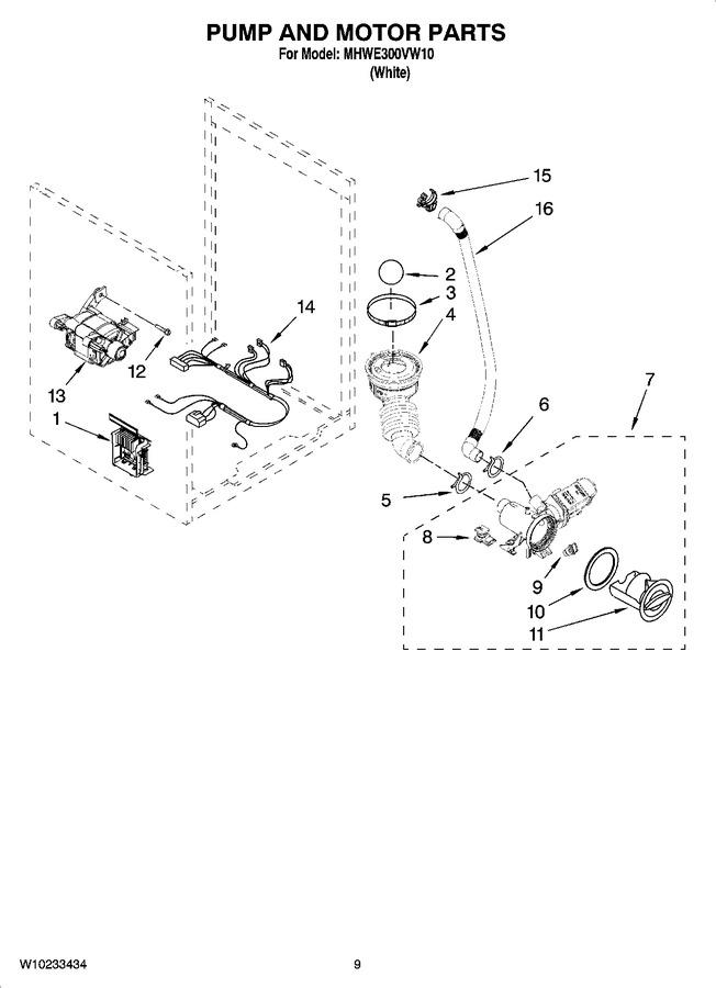 Diagram for MHWE300VW10