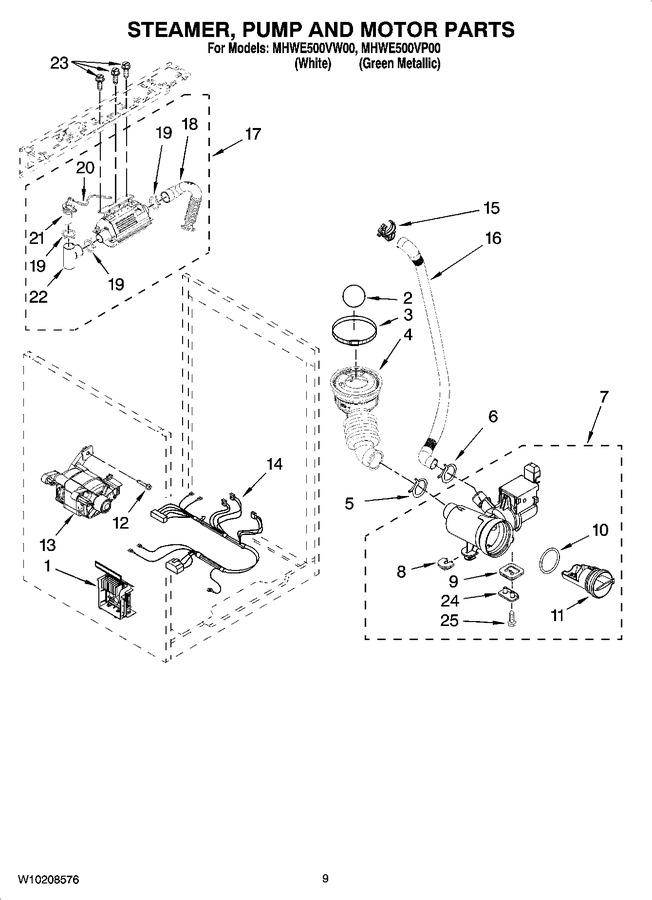Diagram for MHWE500VW00