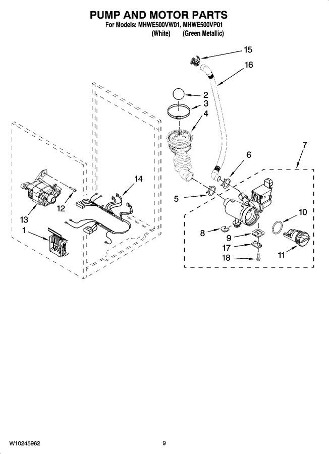 Diagram for MHWE500VW01
