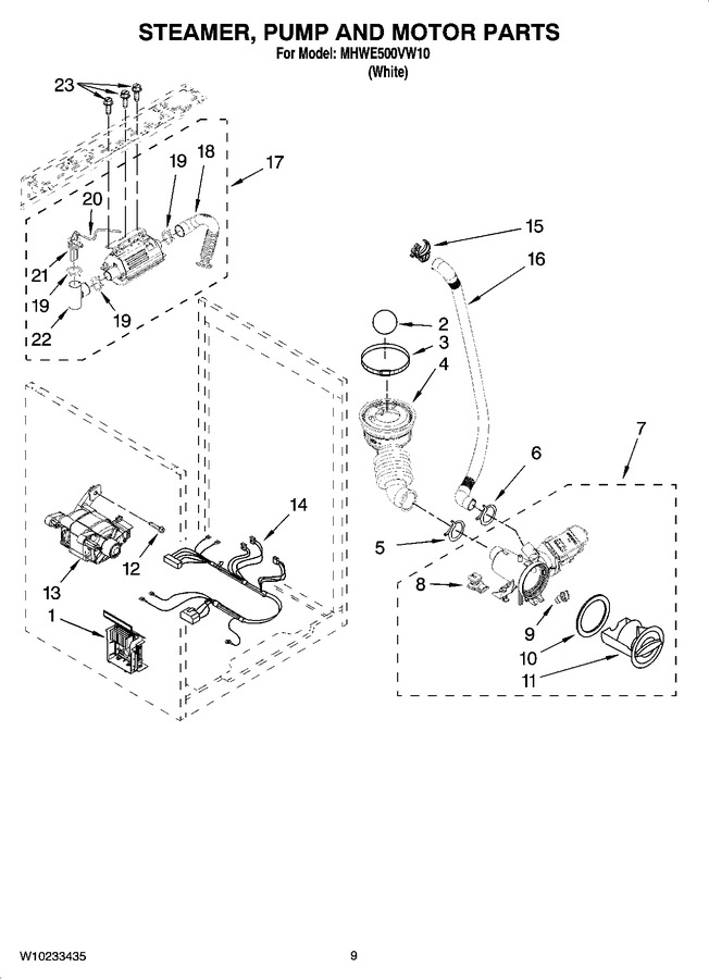 Diagram for MHWE500VW10