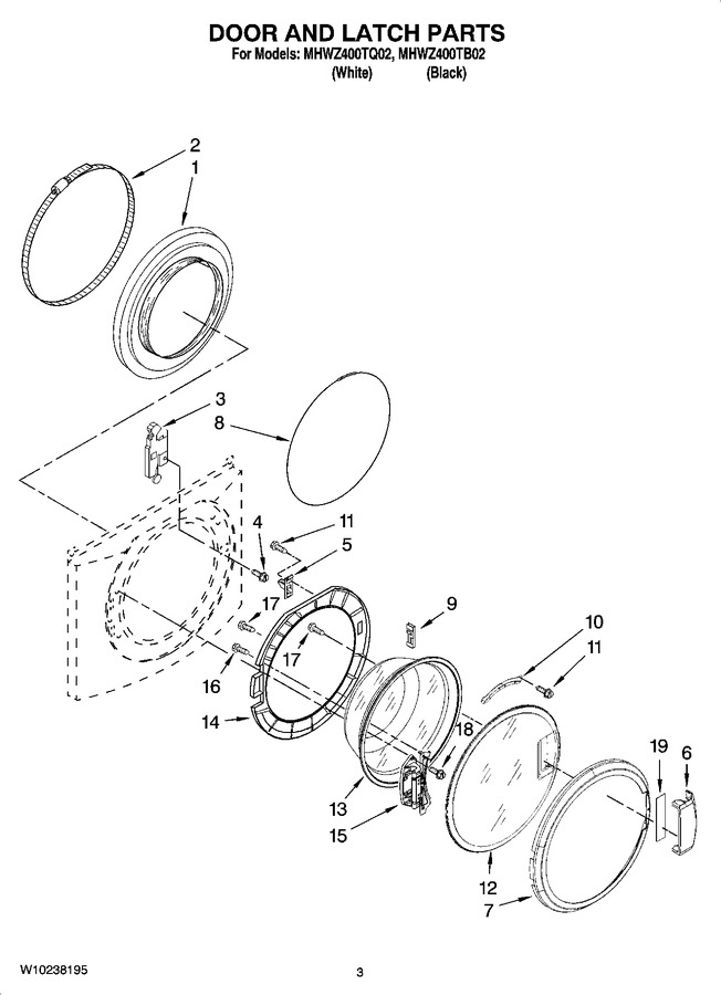 Diagram for MHWZ400TQ02
