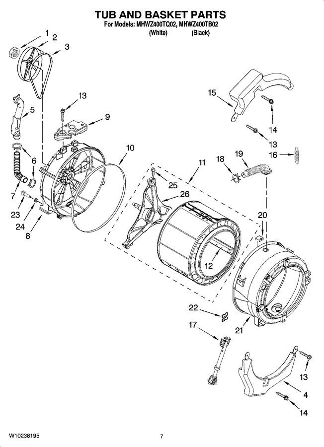 Diagram for MHWZ400TB02