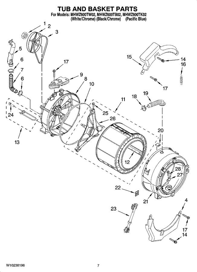 Diagram for MHWZ600TW02