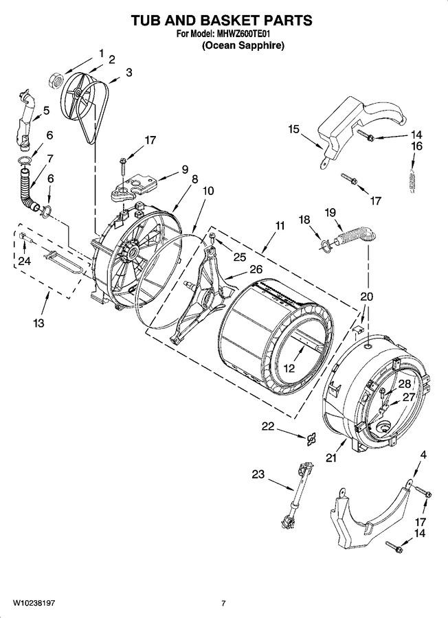 Diagram for MHWZ600TE01