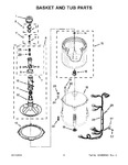 Diagram for 04 - Basket And Tub Parts