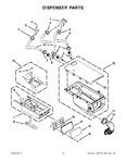 Diagram for 06 - Dispenser Parts