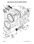 Diagram for 04 - Bulkhead And Blower Parts
