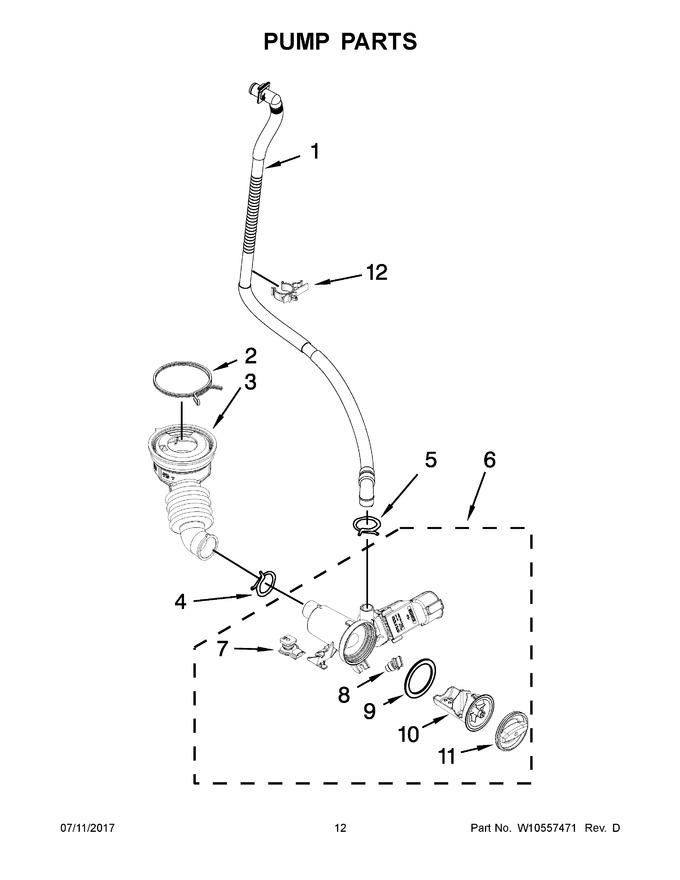 Diagram for MHW8000AG0