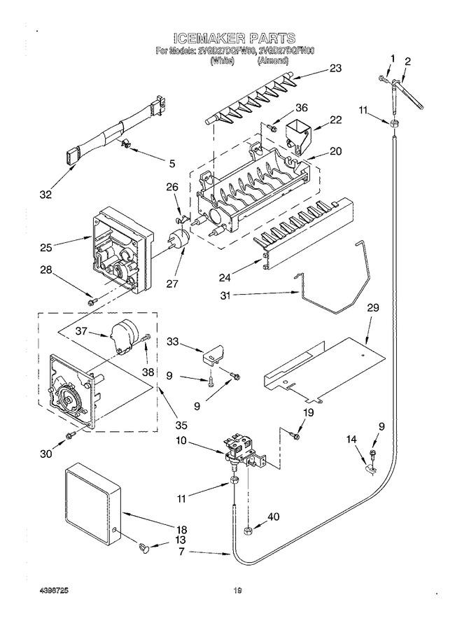 Diagram for 2VGD27DQFN00
