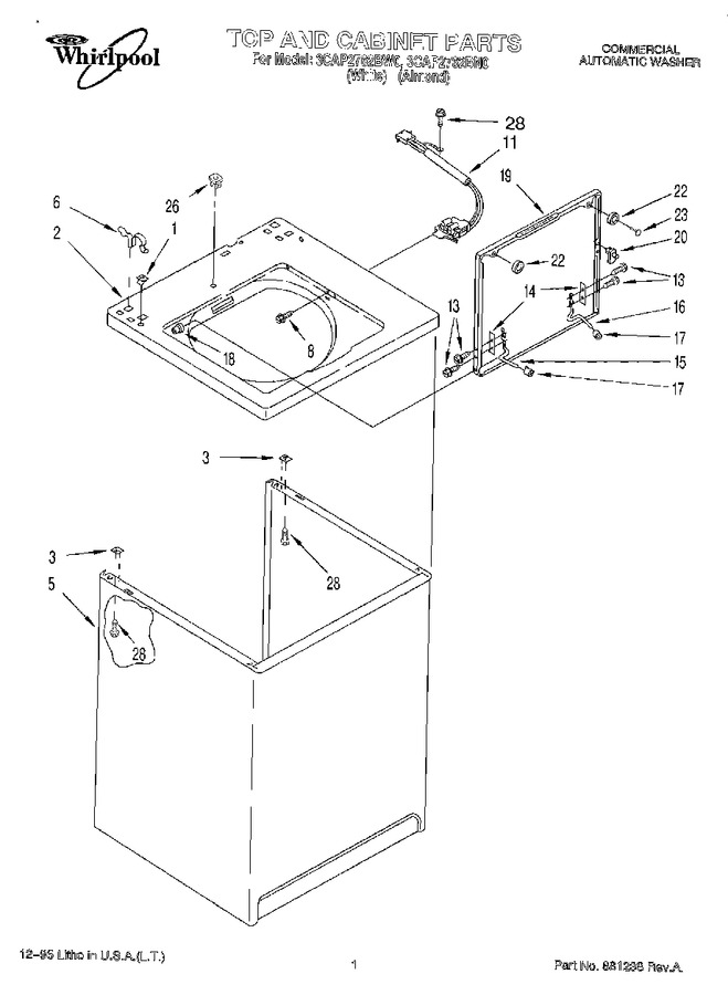 Diagram for 3CAP2762BW0
