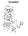 Diagram for 03 - Refrigerator Shelf