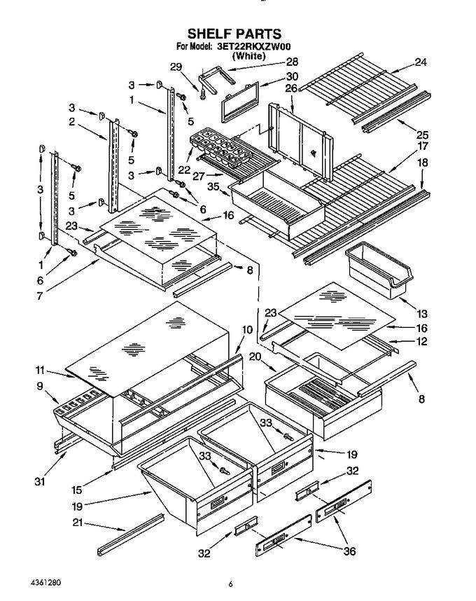 Diagram for 3ET22RKXZW00