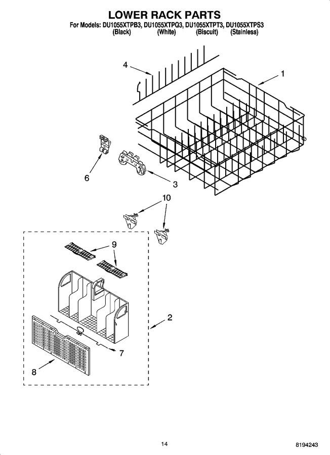 Diagram for DU1055XTPB3