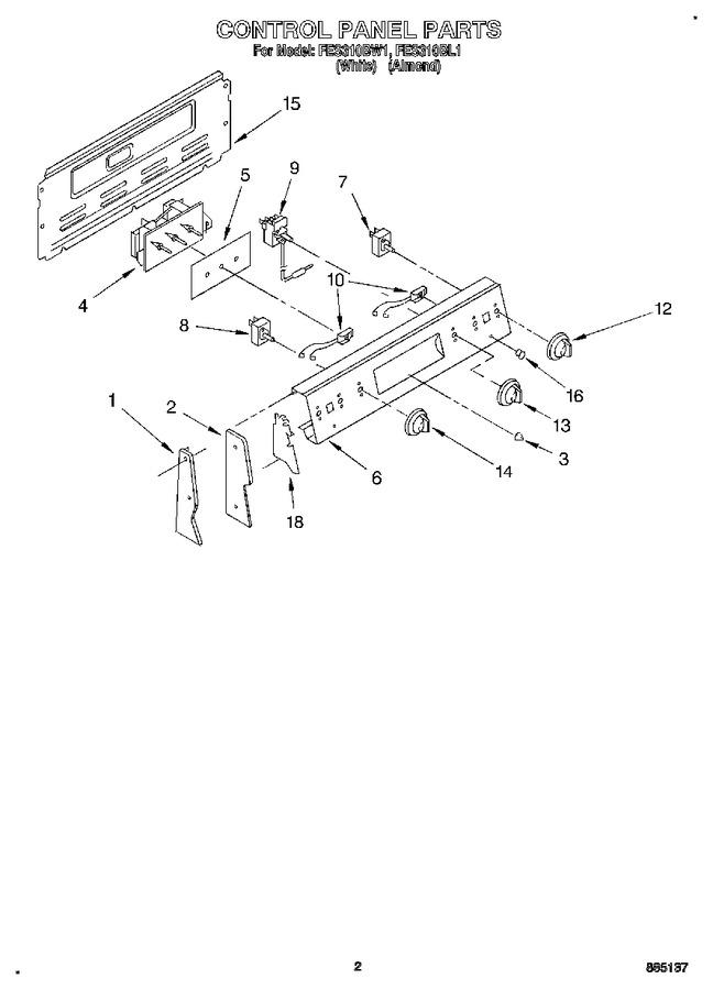 Diagram for FES310BW1