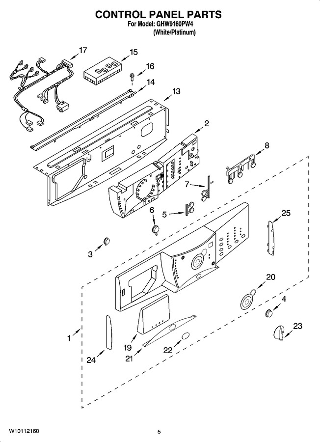 Diagram for GHW9160PW4
