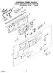 Diagram for 03 - Control Panel Parts