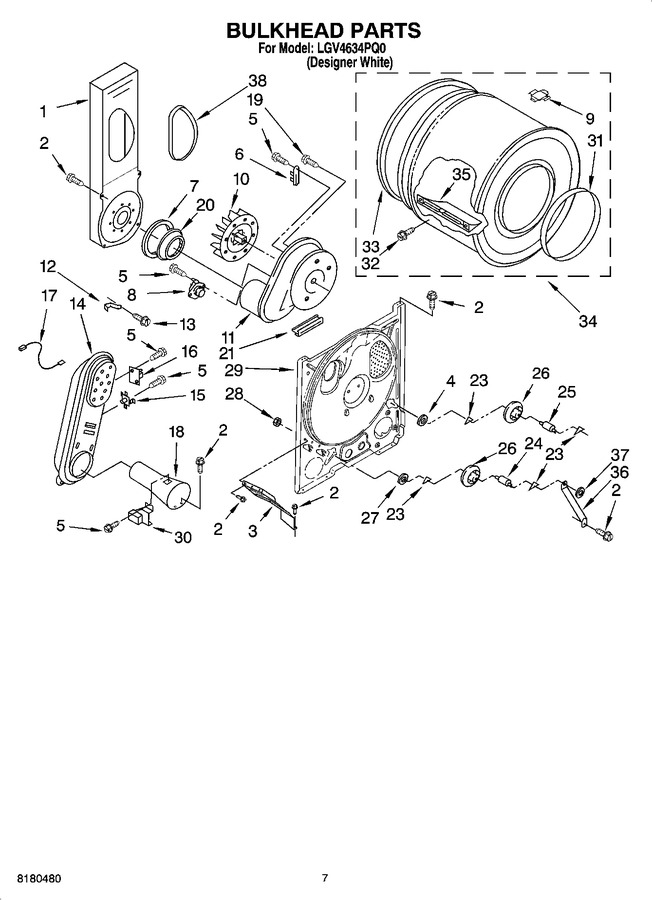 Diagram for LGV4634PQ0