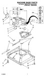 Diagram for 04 - Machine Base Parts