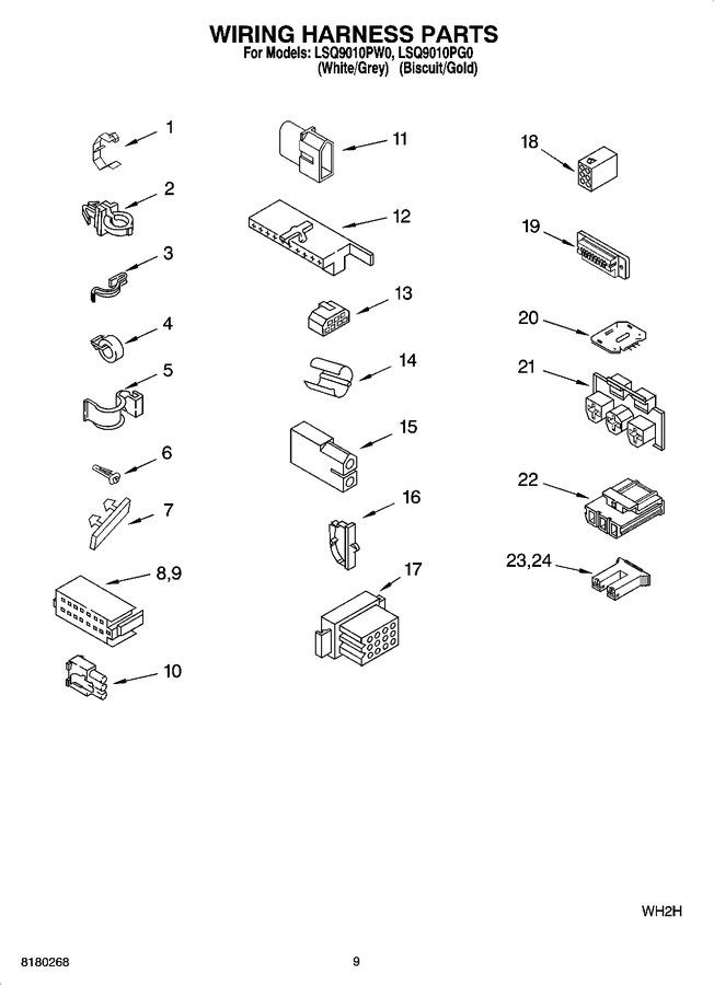 Diagram for LSQ9010PW0
